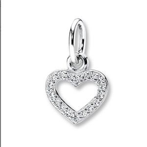PANDORA Charm CZ Valentine Sterling Silver